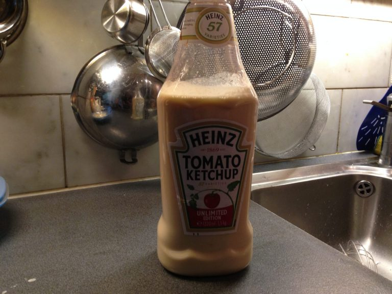 Pannkakor i ketchupflaska