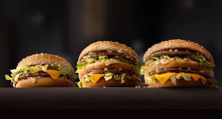 BIG Big Mac Hamburgare