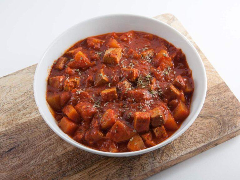 Vegetarisk gulashsoppa