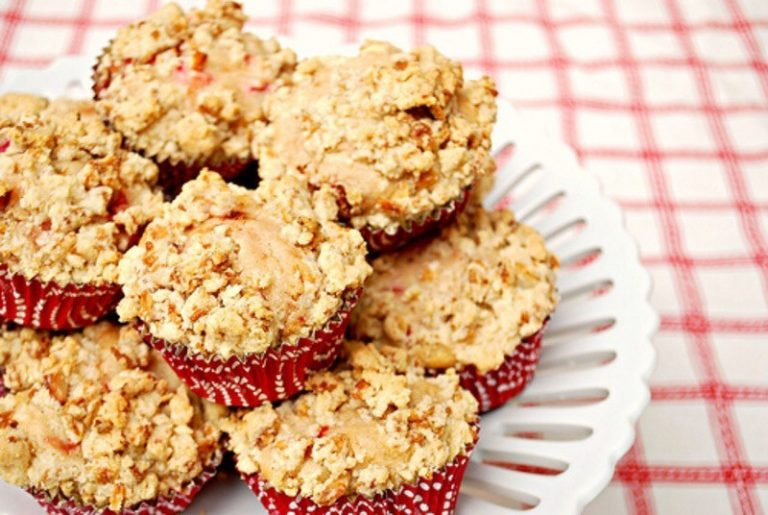 Vaniljmuffins med crunch